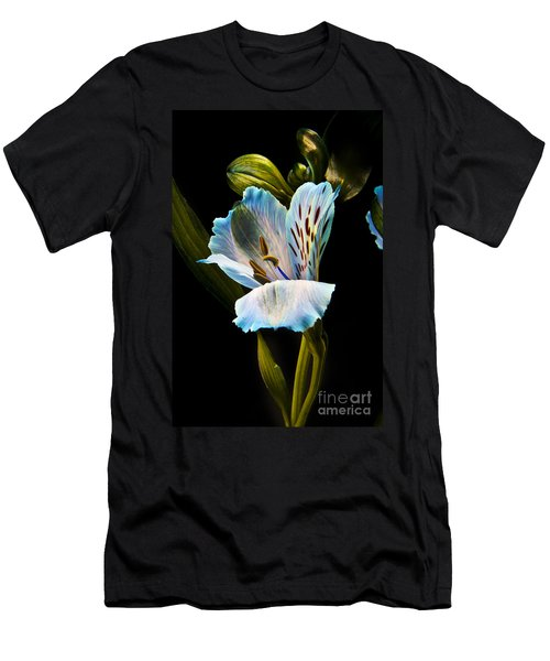 Flower Men's T-Shirt (Slim Fit) by Gunnar Orn Arnason