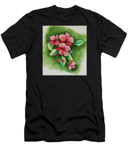 Geraniums Men's T-Shirt (Athletic Fit)