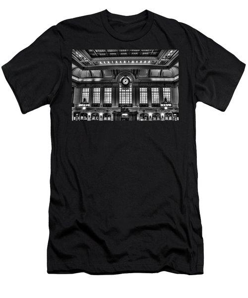 Hoboken Terminal Men's T-Shirt (Athletic Fit)