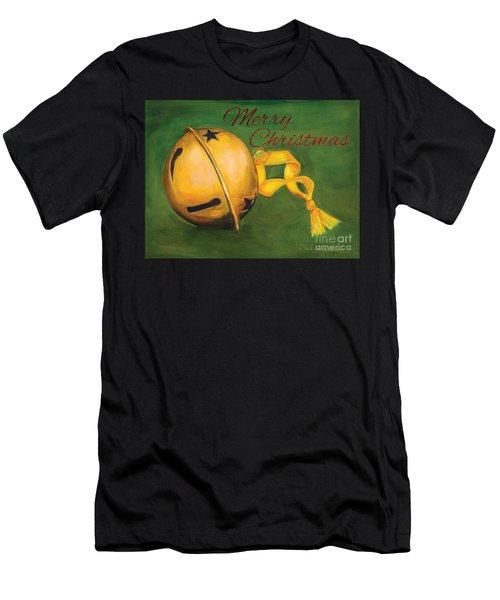 Jingle Bells Men's T-Shirt (Athletic Fit)