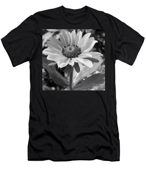 Men's T-Shirt (Slim Fit) featuring the photograph Just A Flower by Janice Westerberg