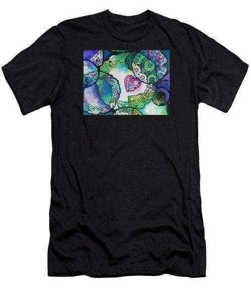 Laced Memories Men's T-Shirt (Slim Fit) by Chrisann Ellis