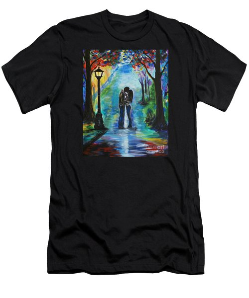 Moonlight Kiss Men's T-Shirt (Athletic Fit)