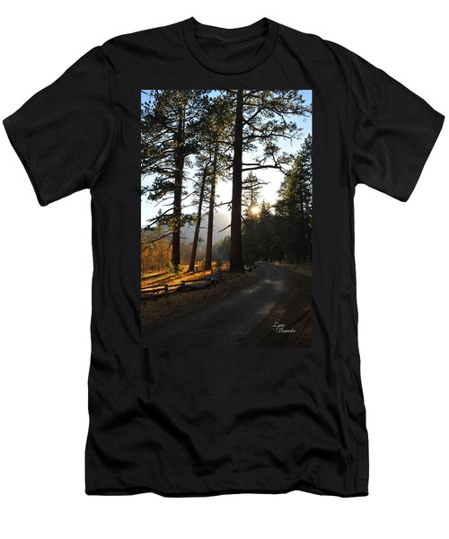 Mountain Road Men's T-Shirt (Athletic Fit)