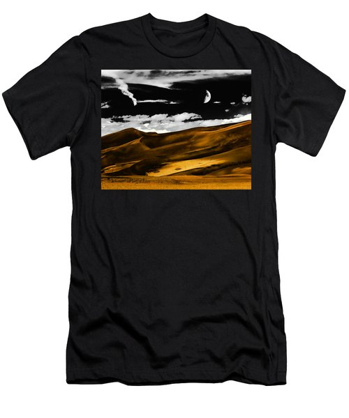 Night At The Great Sand Dunes Men's T-Shirt (Athletic Fit)