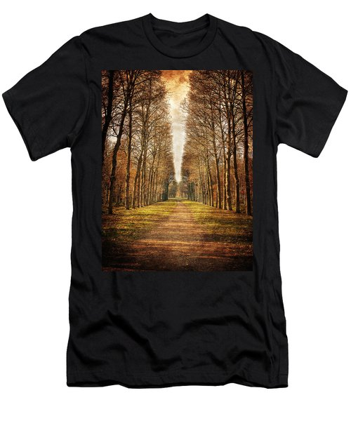 Path In The Woods / Versailles Men's T-Shirt (Athletic Fit)
