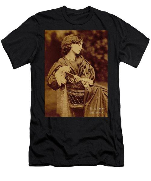 Portrait Of Jane Morris Men's T-Shirt (Athletic Fit)