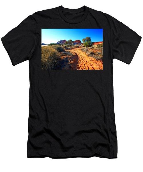 Rainbow Valley Sunrise Men's T-Shirt (Athletic Fit)