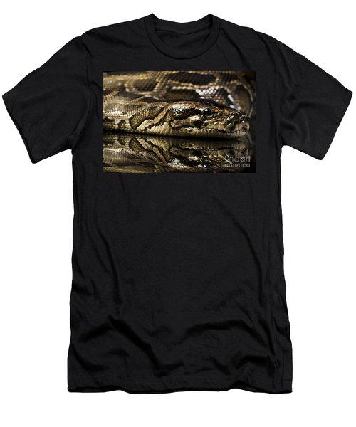 Men's T-Shirt (Slim Fit) featuring the photograph Snake by Gunnar Orn Arnason