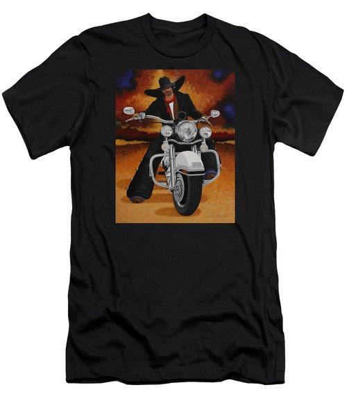 Steel Pony Men's T-Shirt (Slim Fit) by Lance Headlee