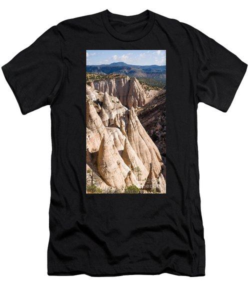 Tent Rocks Men's T-Shirt (Athletic Fit)