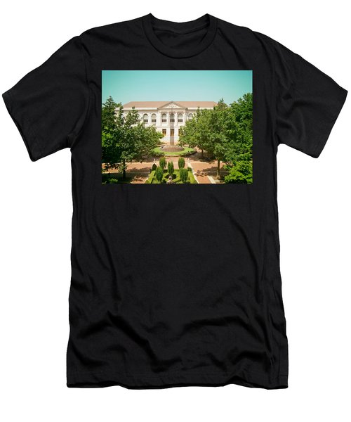 The Old Main - University Of Arkansas Men's T-Shirt (Athletic Fit)