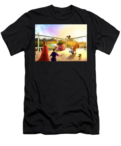The Palace Balcony Men's T-Shirt (Athletic Fit)