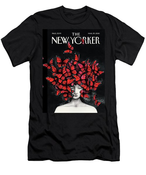 New Yorker March 29th, 2010 Men's T-Shirt (Athletic Fit)