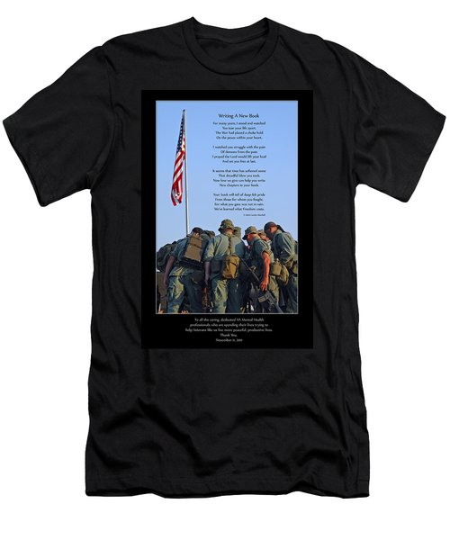 Veterans Remember Men's T-Shirt (Athletic Fit)