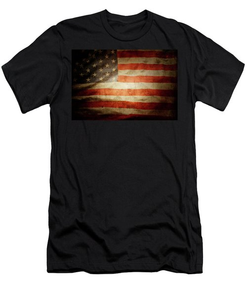 American Flag 48 Men's T-Shirt (Athletic Fit)