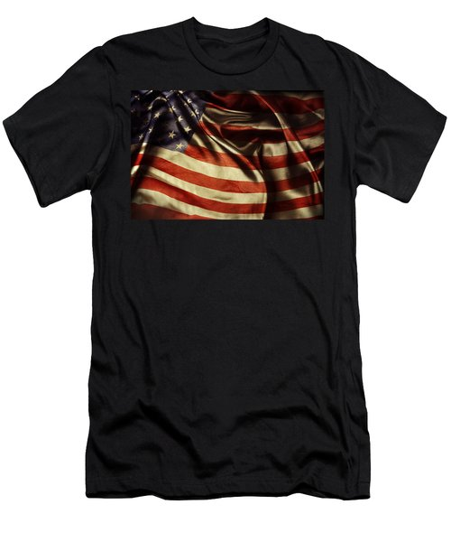 American Flag 51 Men's T-Shirt (Athletic Fit)