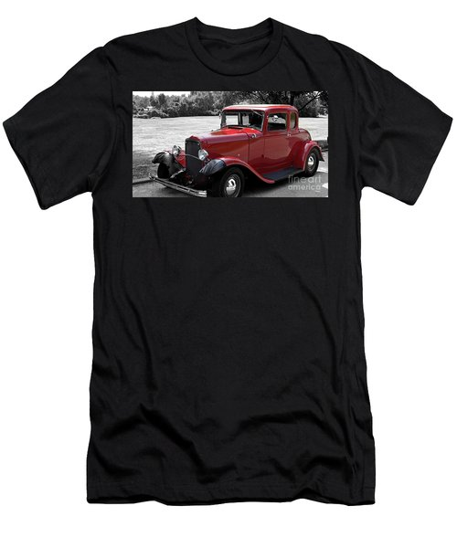 32 Ford Coupe Charmer Men's T-Shirt (Athletic Fit)