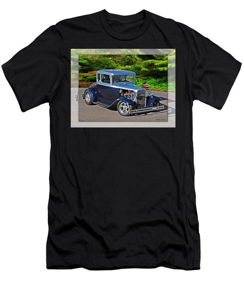 32 Ford Men's T-Shirt (Slim Fit) by Walter Herrit