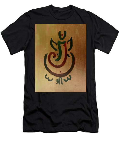 33 Rakta Ganesh Men's T-Shirt (Athletic Fit)