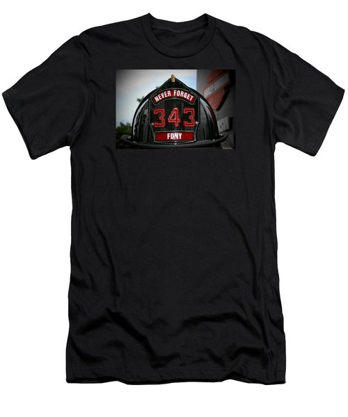 343 Men's T-Shirt (Slim Fit) by Susan  McMenamin