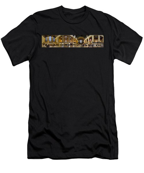 360 Panorama Of Grand Central Terminal Men's T-Shirt (Athletic Fit)