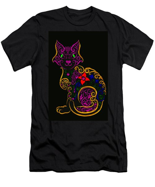 Cat Series 02 Men's T-Shirt (Athletic Fit)