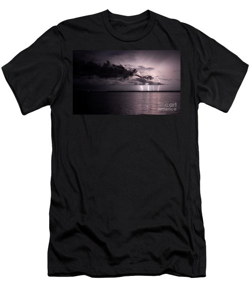 4 Bolts Over Captiva Island Men's T-Shirt (Athletic Fit)