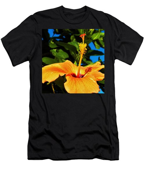 Men's T-Shirt (Slim Fit) featuring the photograph Untouched Beauty by Faith Williams