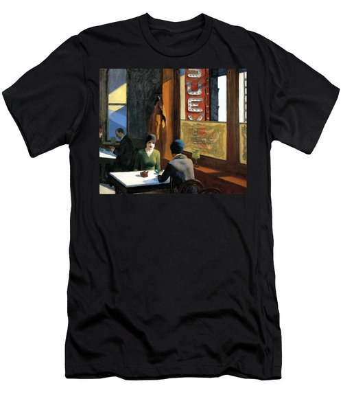Chop Suey Men's T-Shirt (Slim Fit) by Edward Hopper