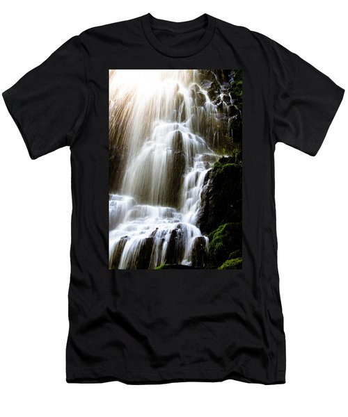Fairy Falls Men's T-Shirt (Slim Fit) by Patricia Babbitt