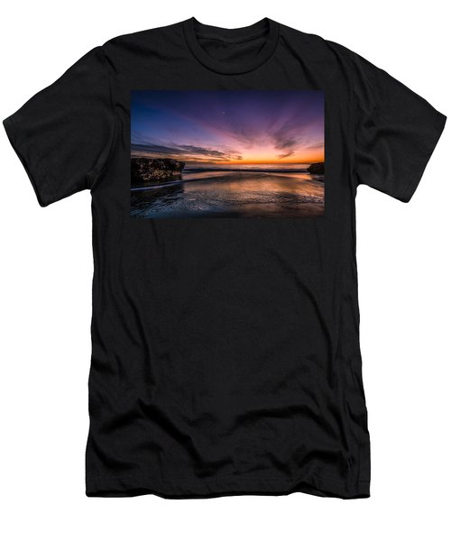 4 Mile Beach Sunset Men's T-Shirt (Athletic Fit)