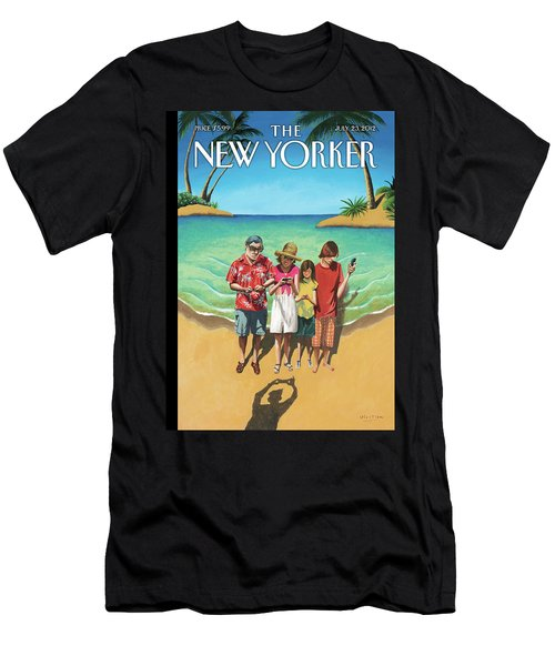 New Yorker July 23rd, 2012 Men's T-Shirt (Athletic Fit)