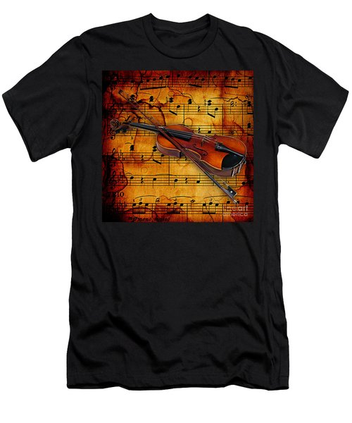 Violin Collection Men's T-Shirt (Athletic Fit)