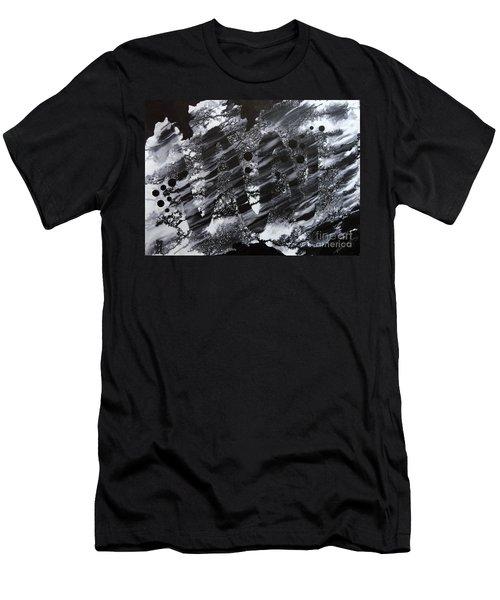 Curve Line Men's T-Shirt (Athletic Fit)