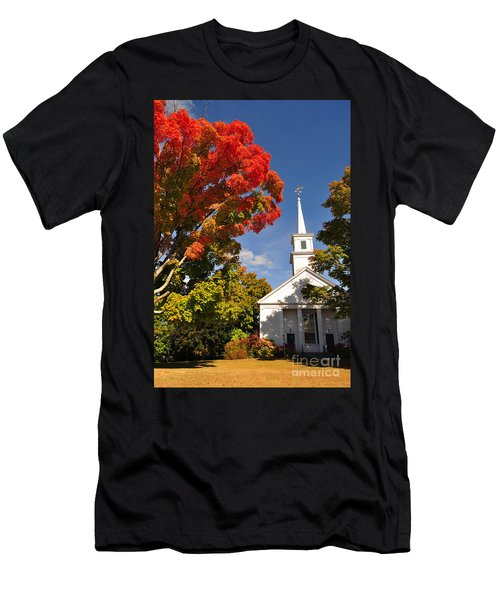 Lunenburg, Ma - Fall Foliage Men's T-Shirt (Athletic Fit)