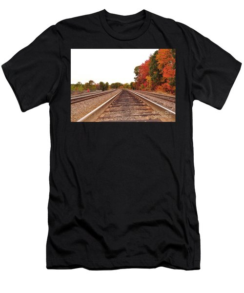 Fall Foliage In New England Men's T-Shirt (Athletic Fit)