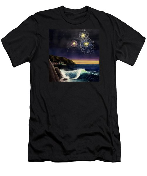 4th On The Shore Men's T-Shirt (Slim Fit) by Jack Malloch