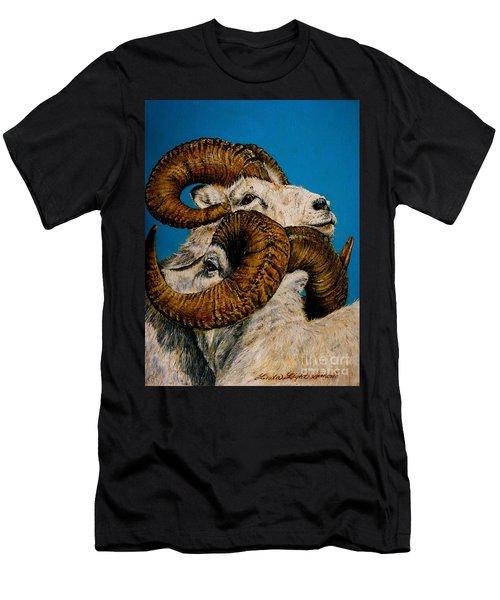 Horns Men's T-Shirt (Slim Fit) by Linda Simon