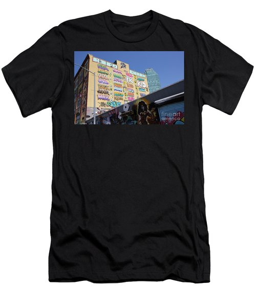 5 Pointz Graffiti Art 2 Men's T-Shirt (Athletic Fit)