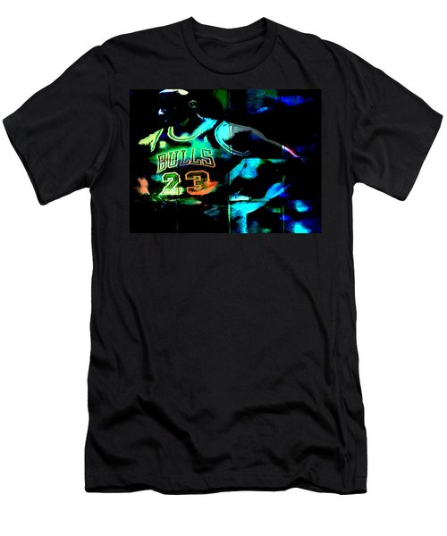 Men's T-Shirt (Slim Fit) featuring the digital art 5 Seconds Left by Brian Reaves