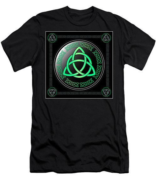 Triquetra Men's T-Shirt (Slim Fit) by Ireland Calling