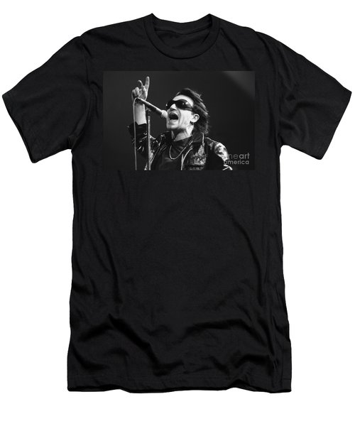 U2 - Bono Men's T-Shirt (Athletic Fit)