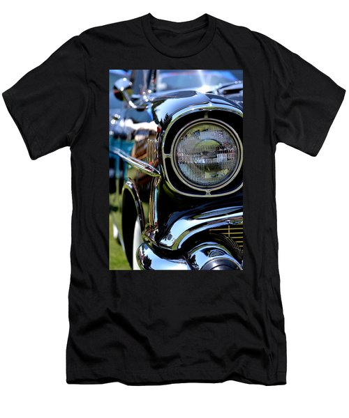 Men's T-Shirt (Slim Fit) featuring the photograph 50's Chevy by Dean Ferreira