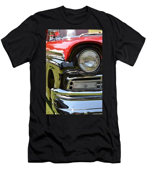 Men's T-Shirt (Slim Fit) featuring the photograph 50's Ford by Dean Ferreira