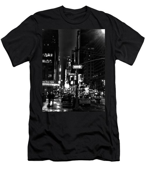 53rd And 7th Men's T-Shirt (Athletic Fit)