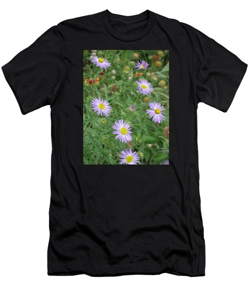 6 Asters Left Men's T-Shirt (Athletic Fit)