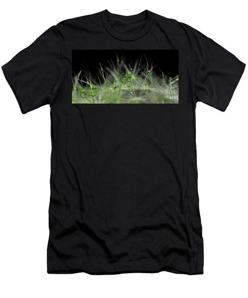 Crystal Flower Men's T-Shirt (Athletic Fit)