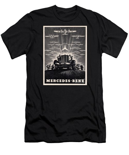 Mercedes - Benz Men's T-Shirt (Athletic Fit)