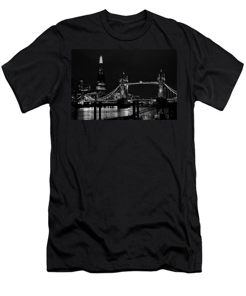 The Shard And Tower Bridge Men's T-Shirt (Athletic Fit)